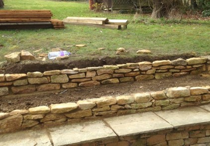 Old Amersham, Landscaping and fence work